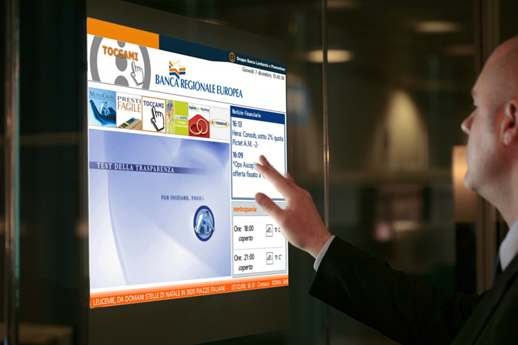 Thru-Glass USB Touch Screens Film Technology - Screen Solutions ...