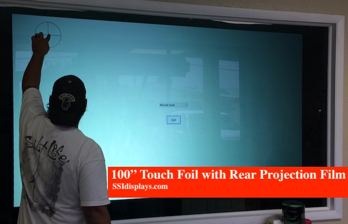 "100"" Touch Foil with RPF"
