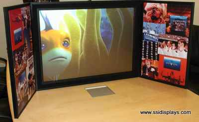 Portable Tradeshow Display Digital Signage