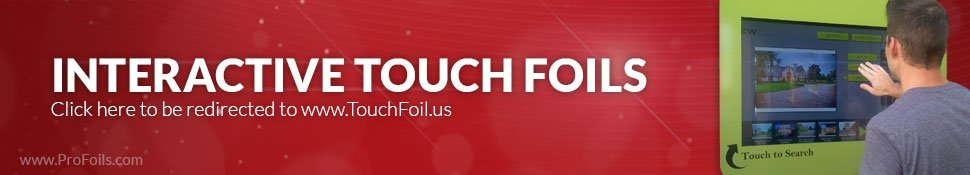 Touch Foil Touch Screen