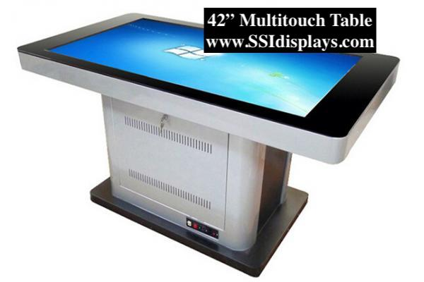 42 inch multi touch table flat