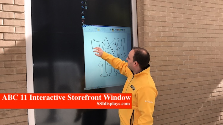 ABC 11 Thru Glass Touch Screen