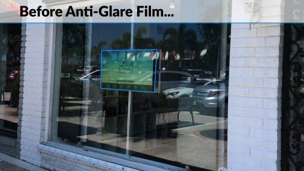 Before using Anti Glare Film
