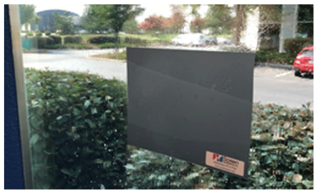 SSI Definition Rear Projection Film Applies to Glass and Acrylic