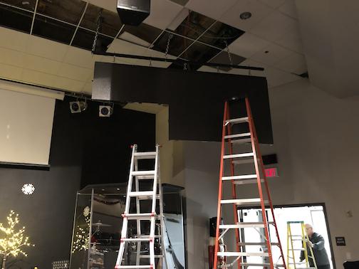 Church LED Video Wall Panel Installation