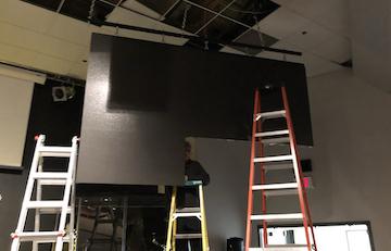 Church Video Wall Install