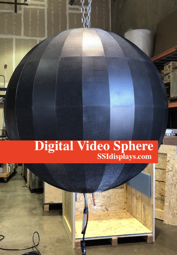 Digital Video Spheres Suspension