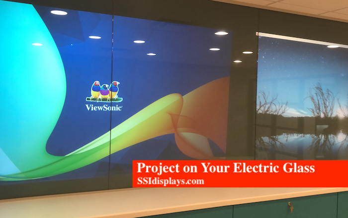 Electric Glass Film with Projection
