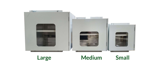 CLimate Control Projector Enclosures Sizes