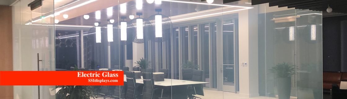 Electric Glass Conference Room Walls