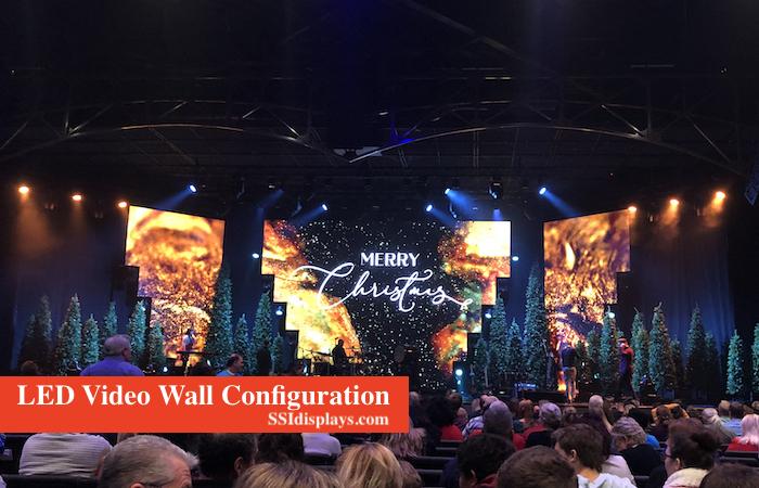 LED Wall Configuration Flexibility