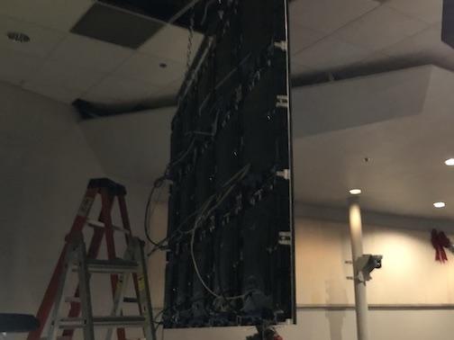 LED video Wall Back Side