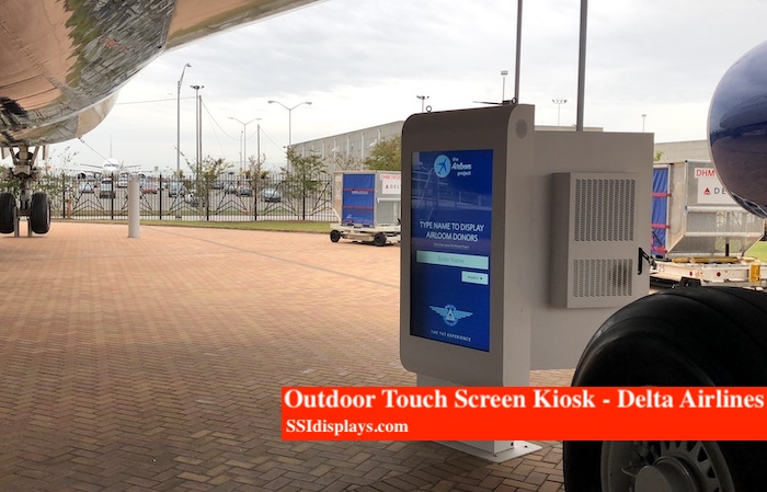 Outdoor Air Conditioned Kiosk Delta