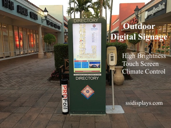 Outdoor Digital Signage FL