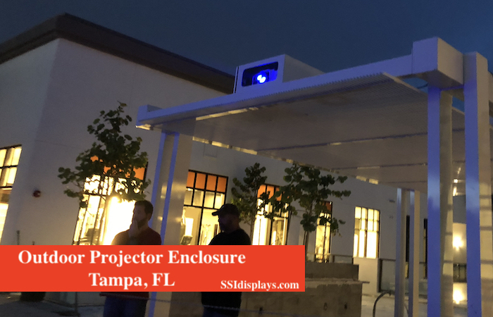 Outdoor Fan Cooled Enclosure - FL Night