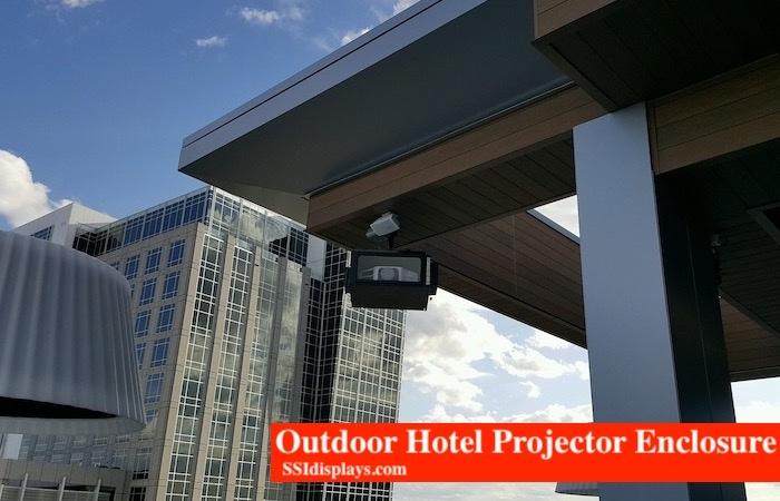 Outdoor Hotel Projector Enclosures