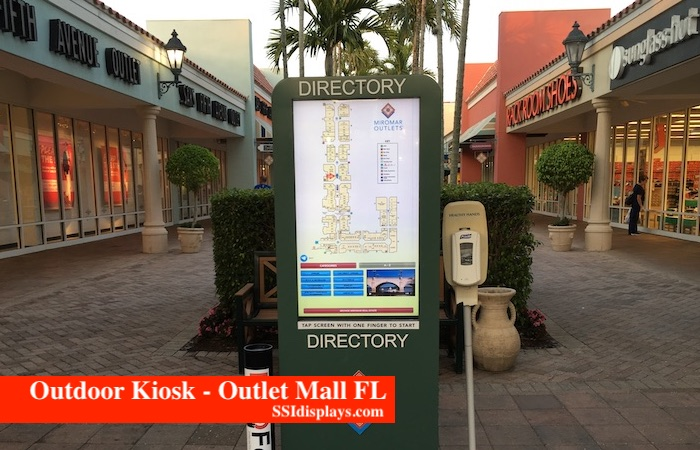 Outdoor Kiosk High Brightness Display
