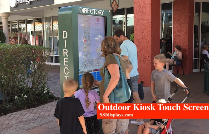 Outdoor Kiosk SW Florida