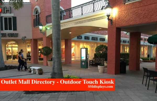 Outdoor Kiosk SW Outlet Mall