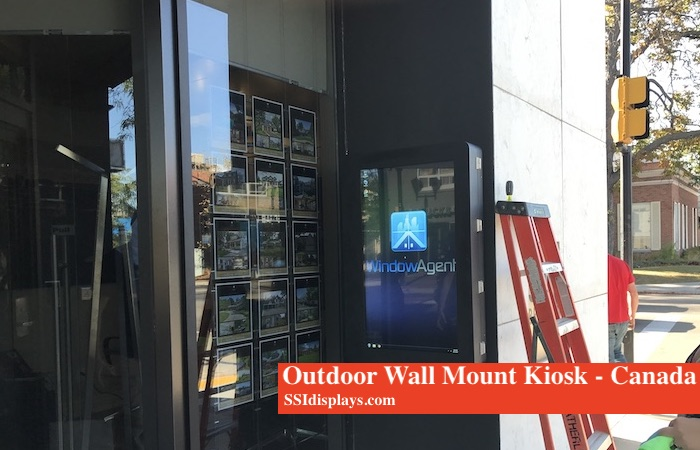 Outdoor Wall Mount Kiosk