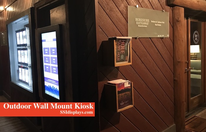 Outdoor Wall Mount Touch Screen Jackson Hole WY