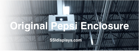 Pepsi Custom Projector Enclosure