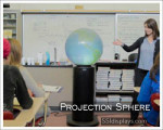 Projection Sphere Pedestal Systems