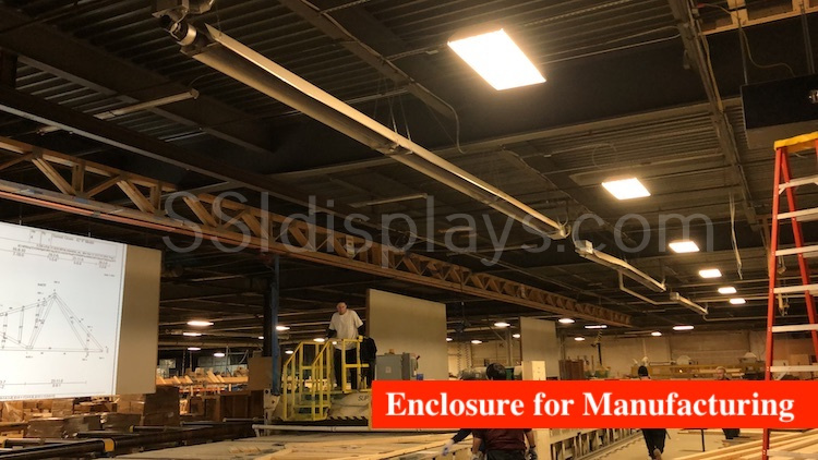 Projector Enclosure Truss Manufacturer