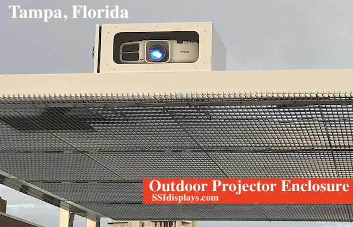 Projector Outdoor Fan Cooled Enclosure FL copy