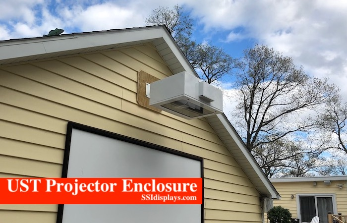 Projector Outdoor Short Throw Enclosure UST