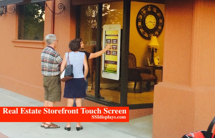 Real Estate Touch Screen - CA