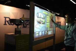Real Estate Touch Screen for Tradeshow Booth