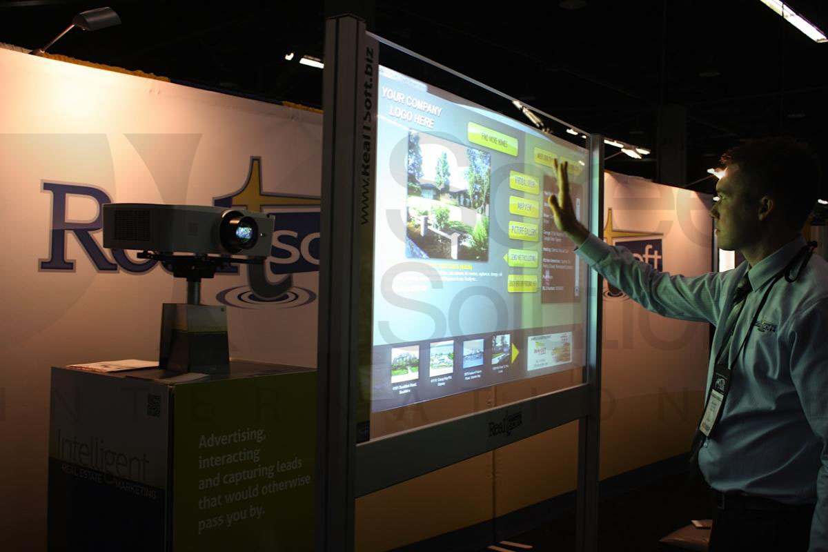 Real Estate Display Trade Show Screen - Portable Screen Kit