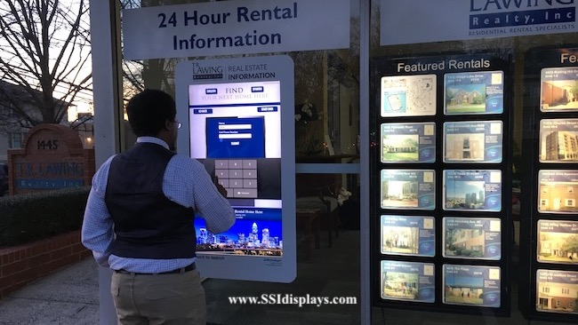 Real Estate Window Display