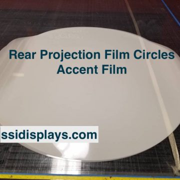 Rear Projection Film Circles