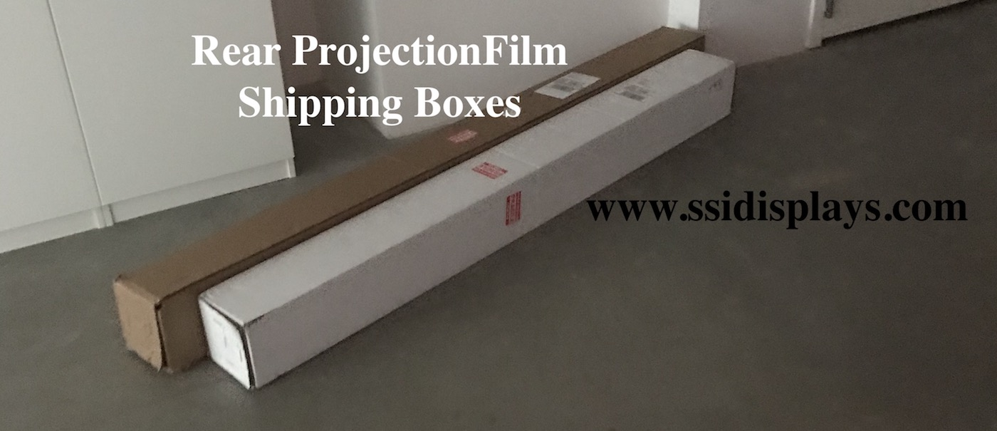 Definition PRO Rear Projection Film Shipping Boxes