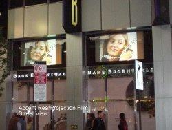 Interactive Storefront Window Displays Street View