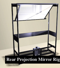 Mirror Rig Design Projection System