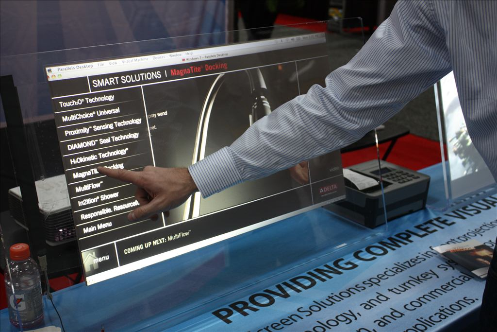 SSI Mobile Presenter Touch Foil Display