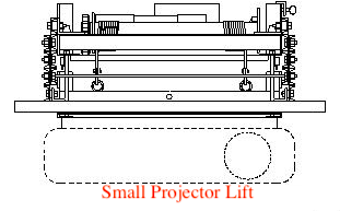 Small Projector Lift