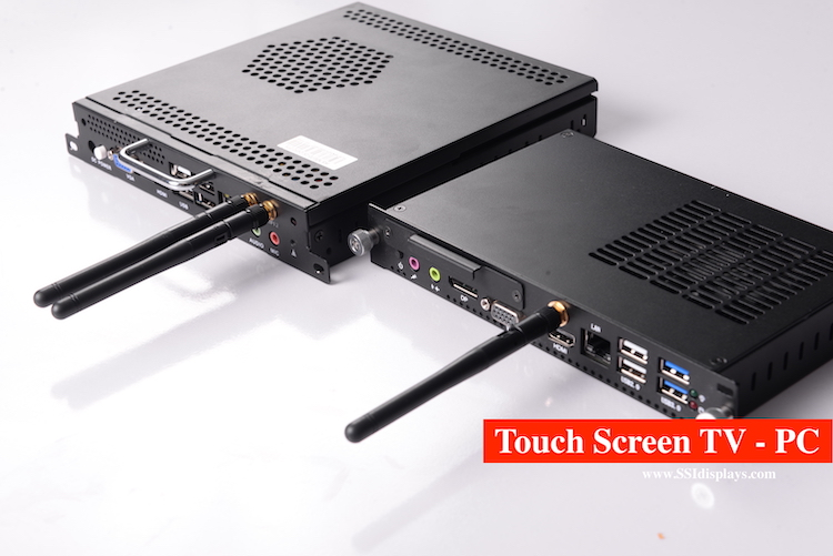 Touch Screen TV Integrated Computer