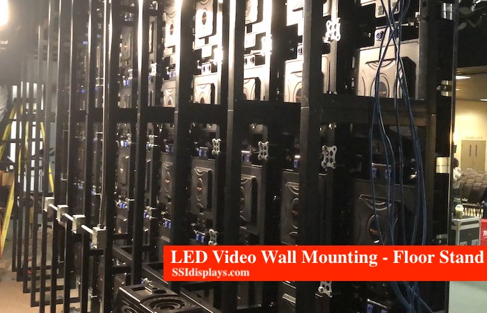 LED Video Wall Mounting