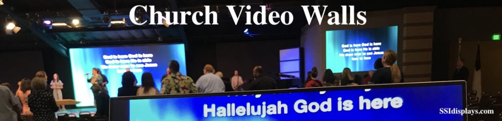 Video Walls for House of Worship Displays