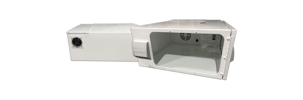 Climate Controlled Hush Box Projector Enclosure