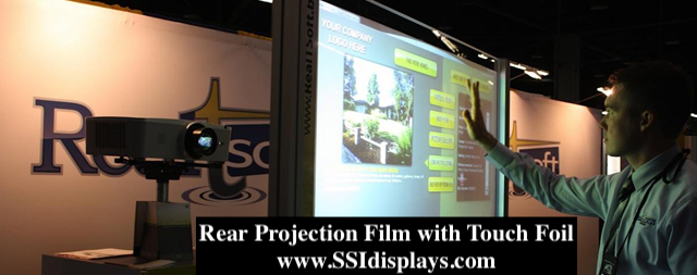 Projection Film on Glass