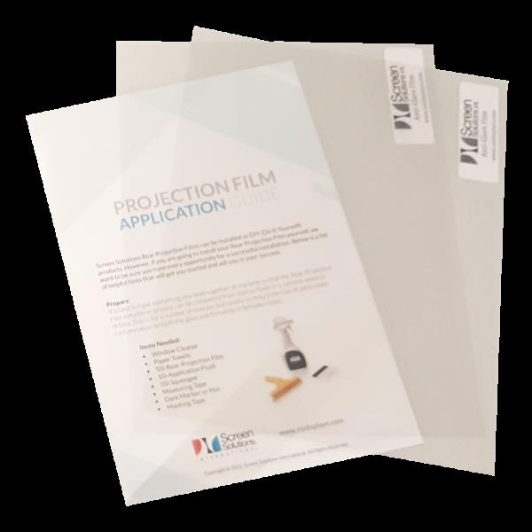 anti-glare film samples