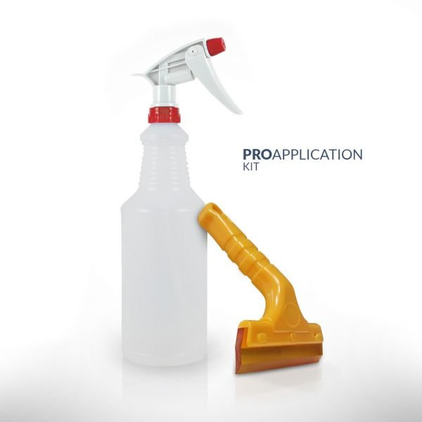 PRO Application Kit with Application Fluid and PRO Squeegee