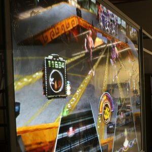 Definition PRO Rigid Film Projection Display Guitar Hero