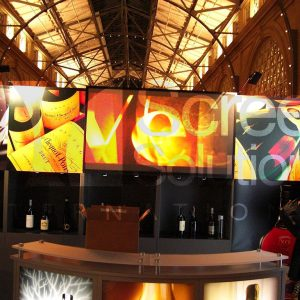 Defintion Film Rigid Projection Display Indoor Winery