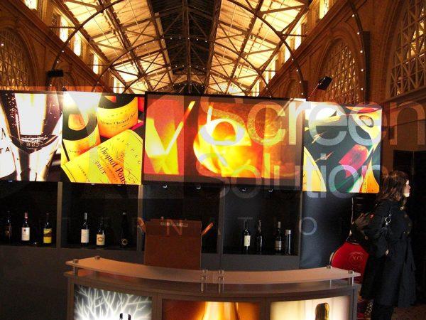 Defintion Film Rigid Projection Display Indoor Winery